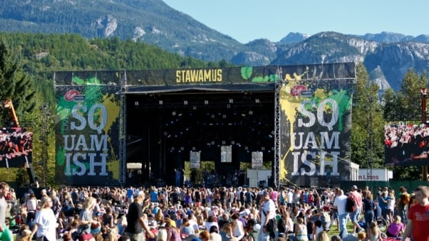 Organizers haven't said why the Squamish Valley Music Festival, which had been held in August at the Logger Sports Grounds in Squamish, is cancelled.