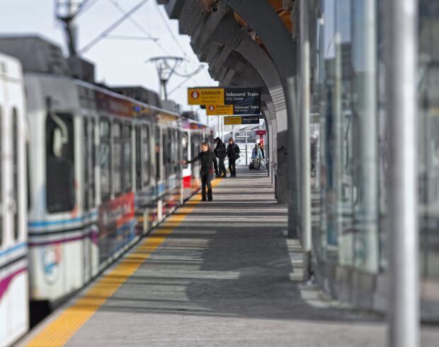 Calgary LRT station