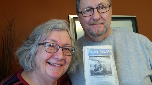 Cathie and Chris Fornssler felt a special joy when they finally saw their daughter's same-sex engagement photo in the newspaper.