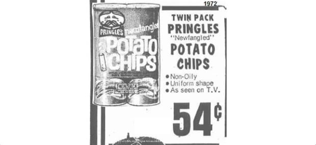 Newfangled Pringles