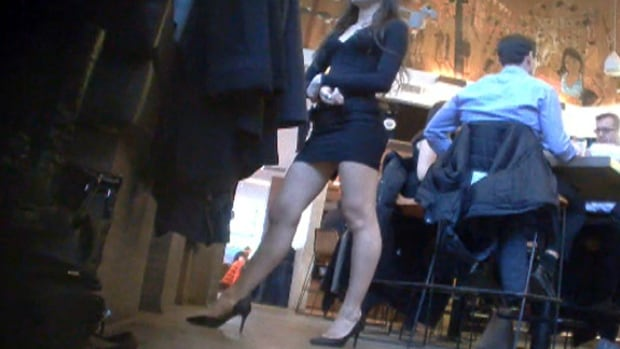 Short skirts, high heels, better service?