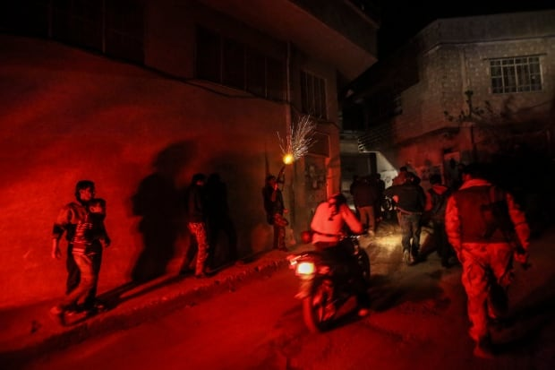 celebratory shooting in Teshreen Damascus Feb 29 2016