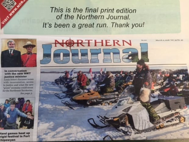 Northern Journal last edition
