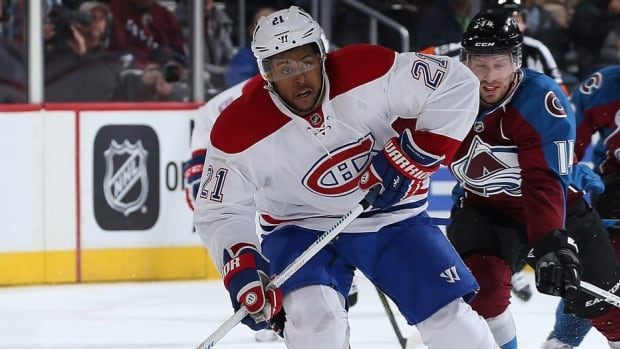 Former Canadiens forward Devante Smith-Pelly, now with New Jersey, was fined $2,000 US on Thursday by the NHL for diving/embellishment. The play in question occurred in a Feb. 24 at Washington while Smith-Pelly played for Montreal, when Capitals centre Nicklas Backstrom received a minor penalty for slashing.