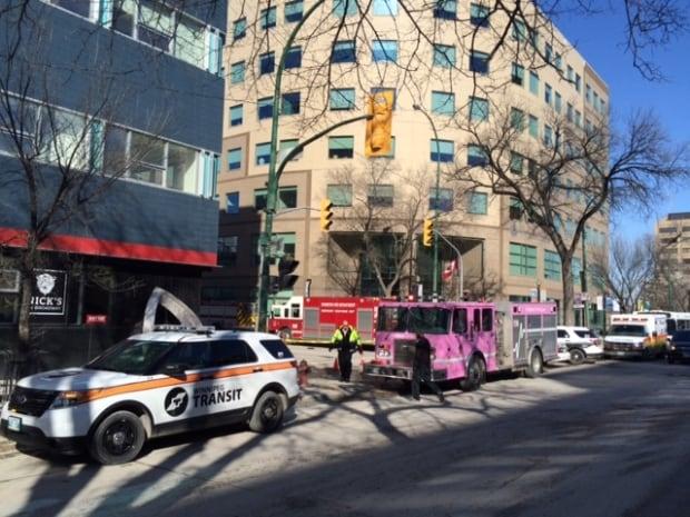Smith and Broadway evacuation