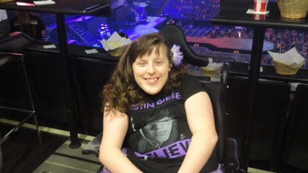 Falum Gibson has launched fight for accessibility in Ontario after being told her $2,000 seats for a Justin Bieber concert at the ACC were not wheelchair accessible.