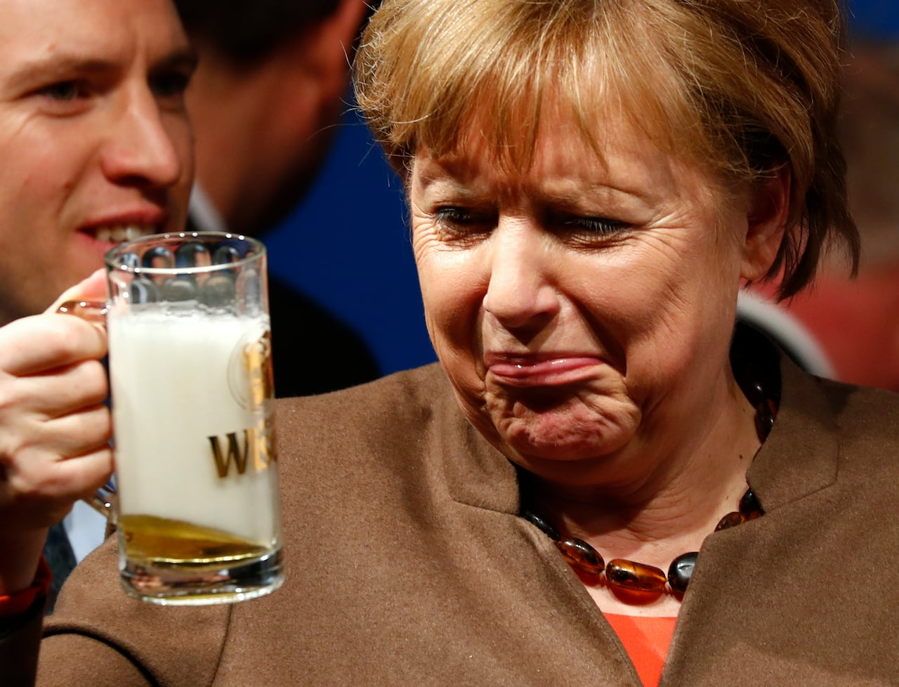 Astronauts return to Earth, Angela Merkel drinks a beer and Oscars ...