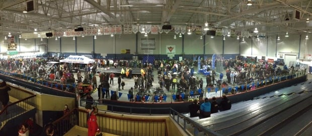 Cain's Quest Fan Night in the Labrador City Arena