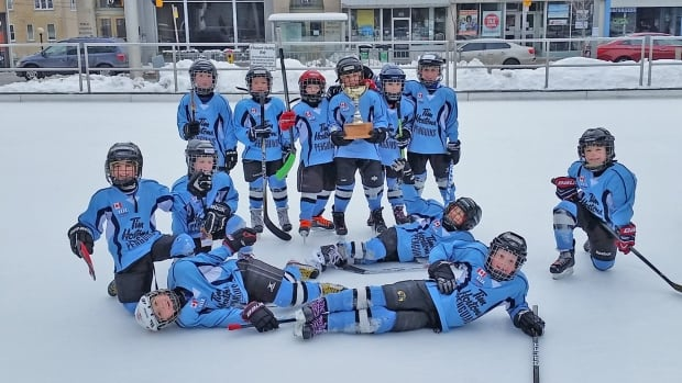 Mayor's Cup Kitchener hockey tournament tykes