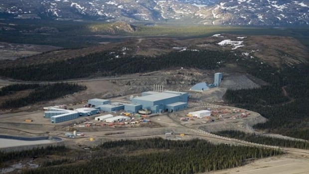 The Voisey's Bay mine and concentrator is located south of Nain, Labrador.