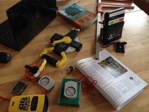 Air monitoring sensors and Tree identification tools