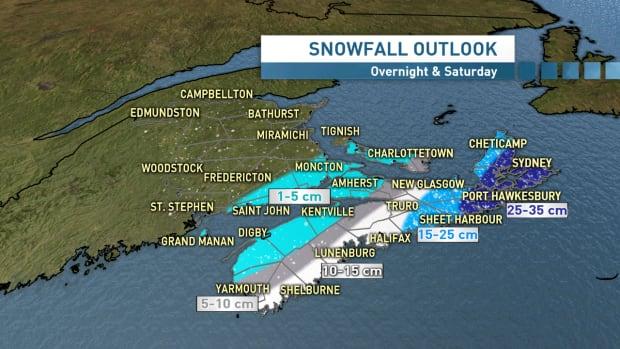 Snowfall outlook Mar 4 2016