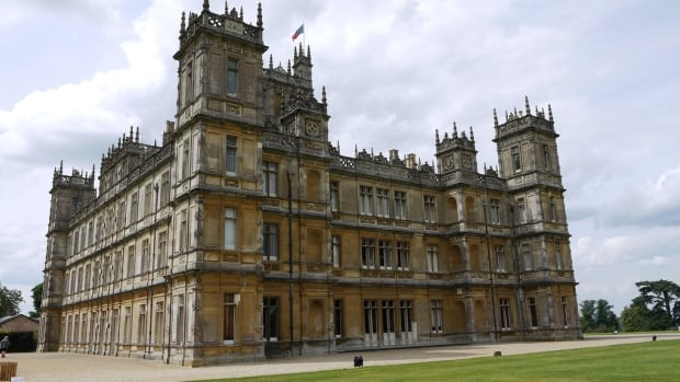 Downton Abbey is shot at Highclere Castle, an estate that is actually much bigger in real life,  says Lady Carnarvon, whose family built the castle in 1842.