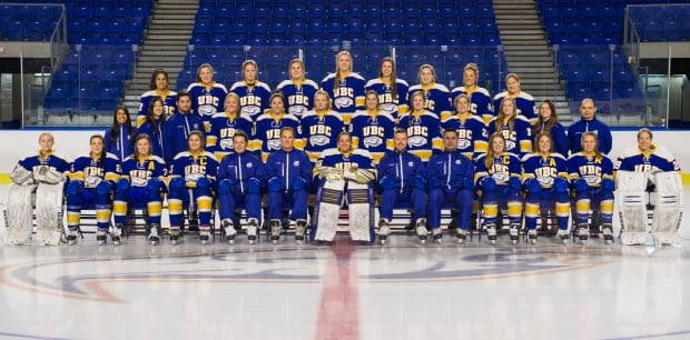 UBC 2016 hockey team