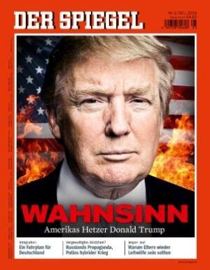 Cover of Der Spiegel - Trump