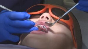 Syrian child dentist