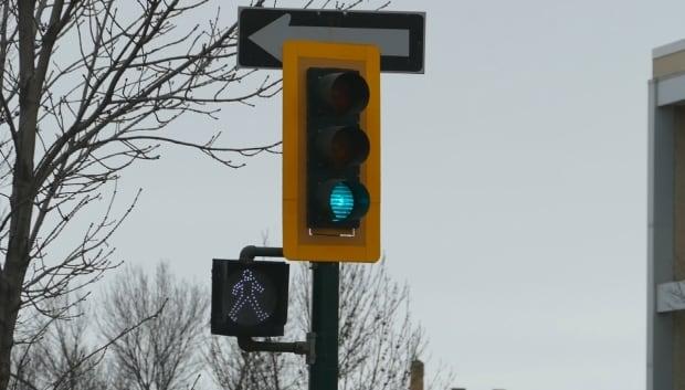 Brandon traffic light
