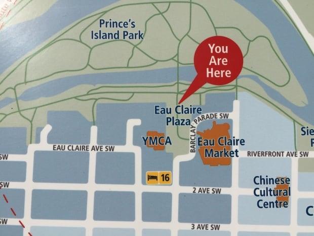 Eau Claire map