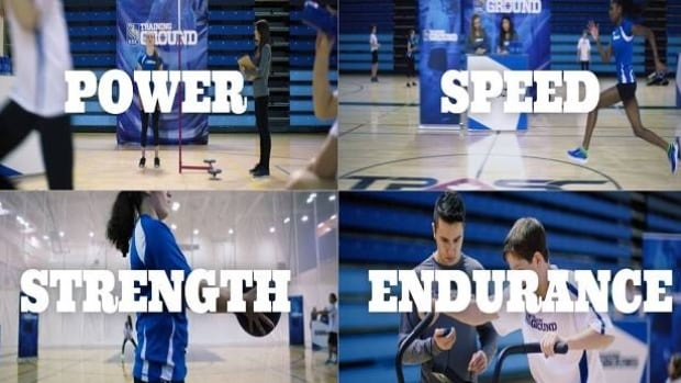RBC Training Ground athletes are being challenged in a series of high-level circuits that test their power, speed, strength and endurance.