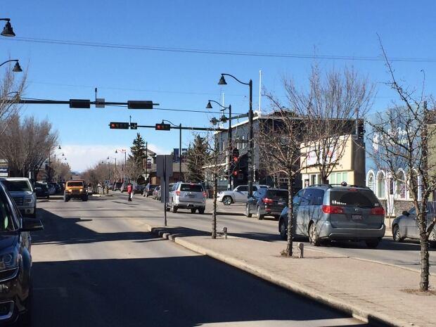Okotoks street