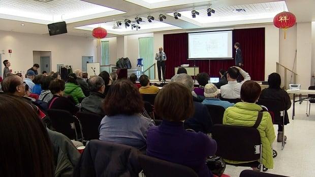 Chinatown redevelopment meeting