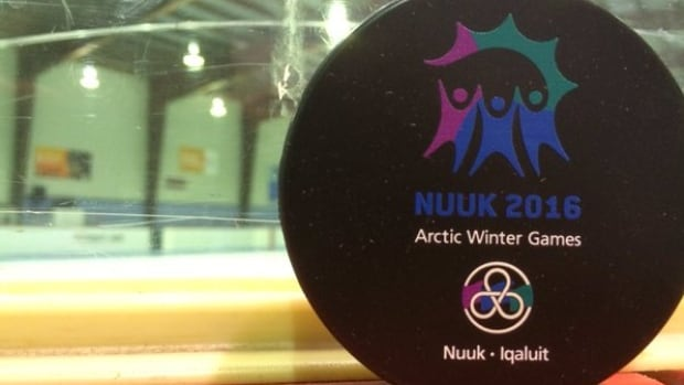 Specially made pucks for the 2016 Arctic Winter Games. Our seven reporters will bring you all the action from Nuuk and Iqaluit this week.