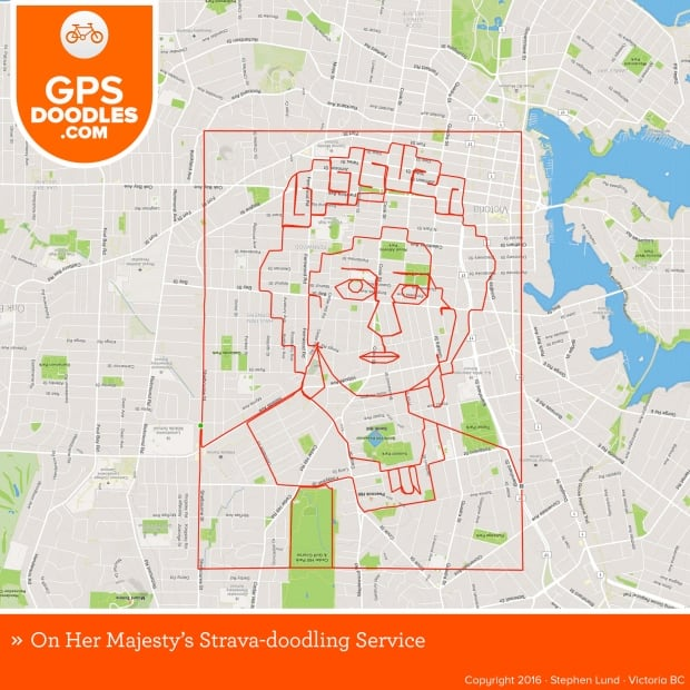 Stephen Lund GPS doodles 2