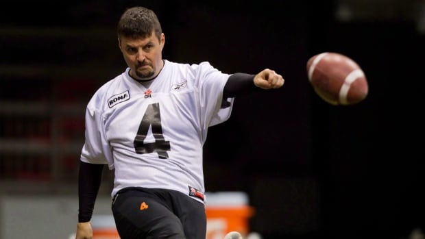 Kicker Paul McCallum signed a one-day contract so he can retire as a B.C. Lion.