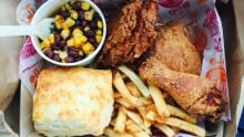 Cluck 'n' cleaver chicken box
