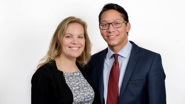 Stephanie Danyluk (left) and Spencer Fernando both resigned from the Manitoba Liberal Party Monday. The two are also partners.