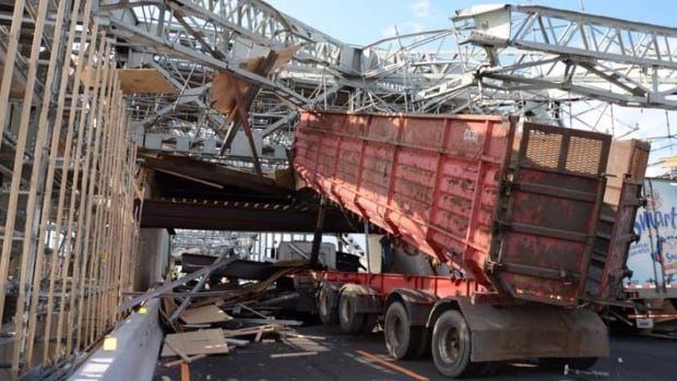 On July 31, 2014, a dump truck crashed into the superstructure of Burlington Skyway, causing $1.2 million in damages.