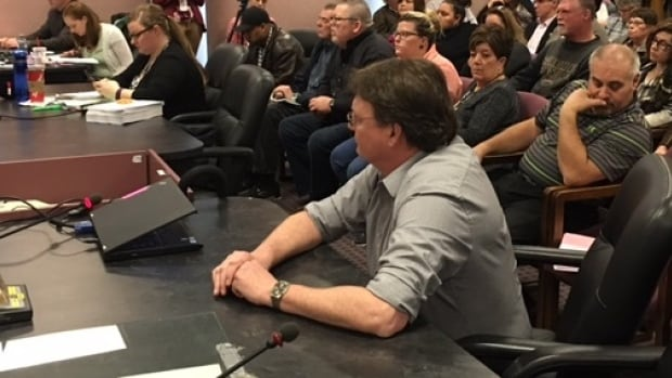 CUPE Local 543 president Mark Vander Voort says his union was not consulted on proposal to outsource caretaker services