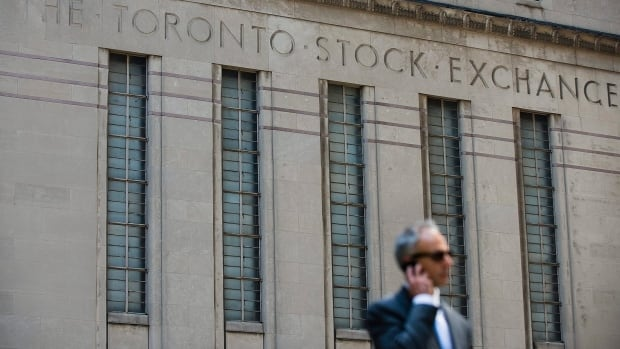 TSX soars to record high close