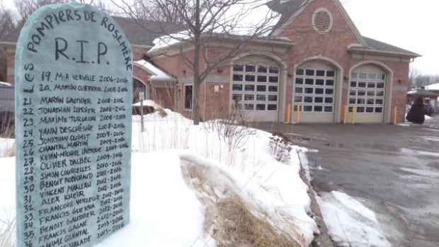 'Rosemère no longer had the financial means to have its own fire department,' said Mayor Madeleine Leduc.
