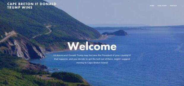 Cape Breton if Trump Wins