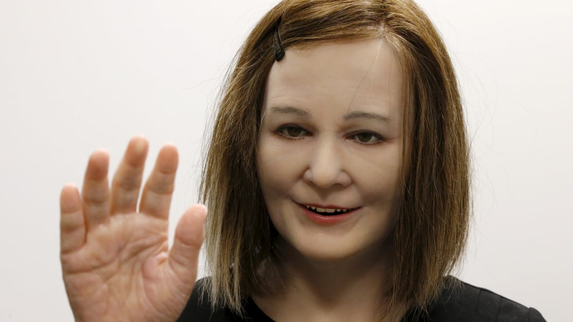 Humanoid robots have realistic skin, expressive faces ...