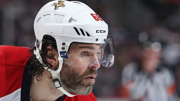 Famous for his hockey hair in his younger days, Jaromir Jagr is now the NHL's resident greybeard.