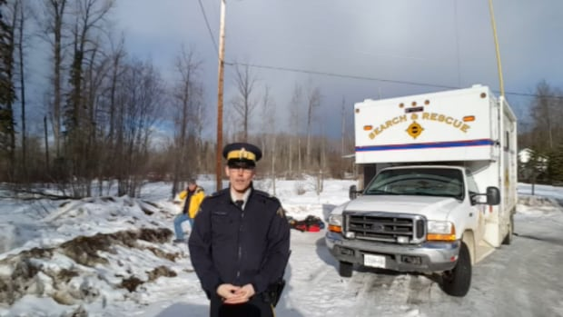 Prince George snowmobiler search