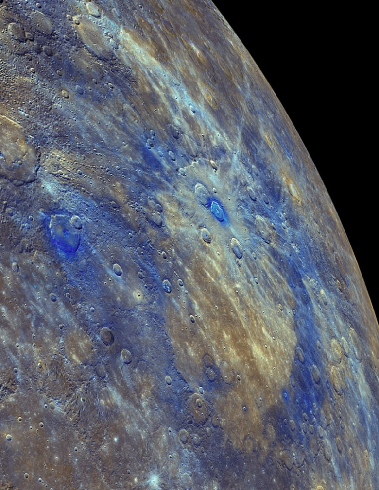 Mercury once covered in black, carbon crust, study suggests