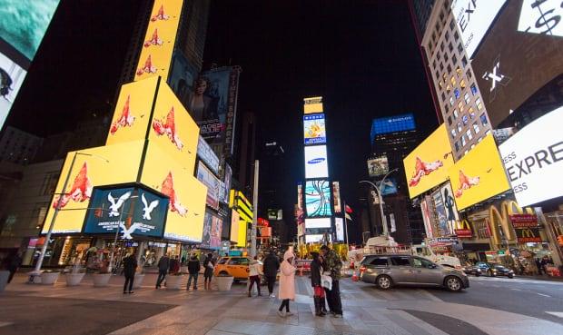 Lorna Mills Midnight Moment Times Square