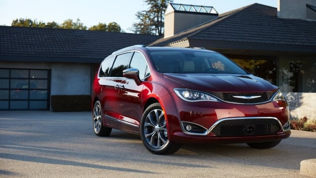 FCA is recalling more than 162,000 2017 Chrysler Pacifica minivans because a software glitch.