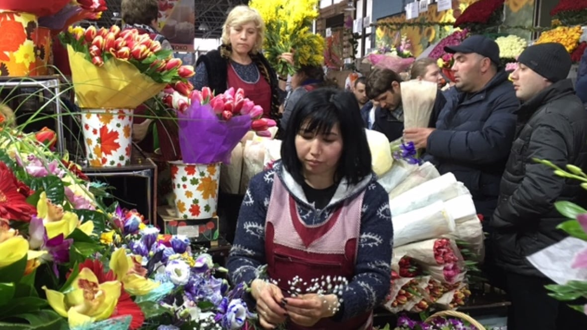 In Russia, International Women's Day means flowers and ...