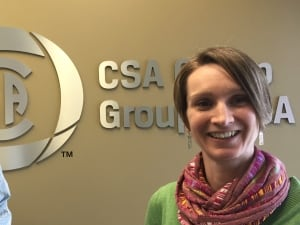 Hilary Davies, Project Manager CSA