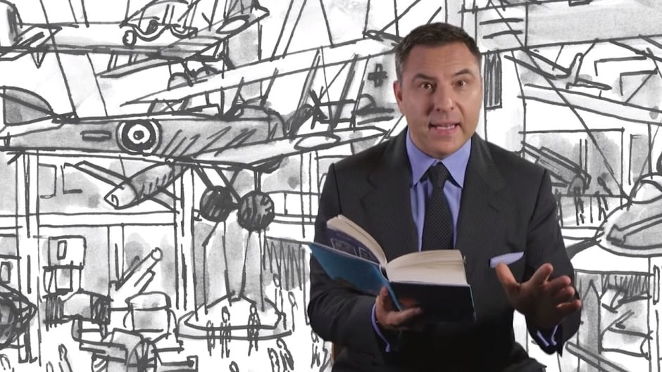 David Walliams joins Shad to discuss his new children's book, Grandpa's Great Escape.