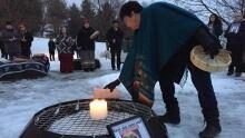 Delaine Copenace vigil