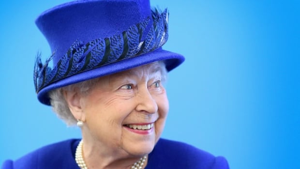 Britain's Queen Elizabeth smiles during a visit to the Prince's Trust Centre in London, on Tuesday. Buckingham Palace has complained to Britain's press watchdog after a newspaper story claimed the Queen backed a U.K. exit from the European Union.