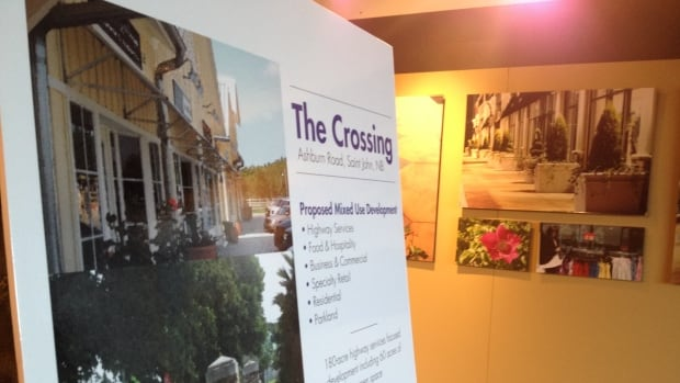 'The Crossing' is a new proposed development for east Saint John.