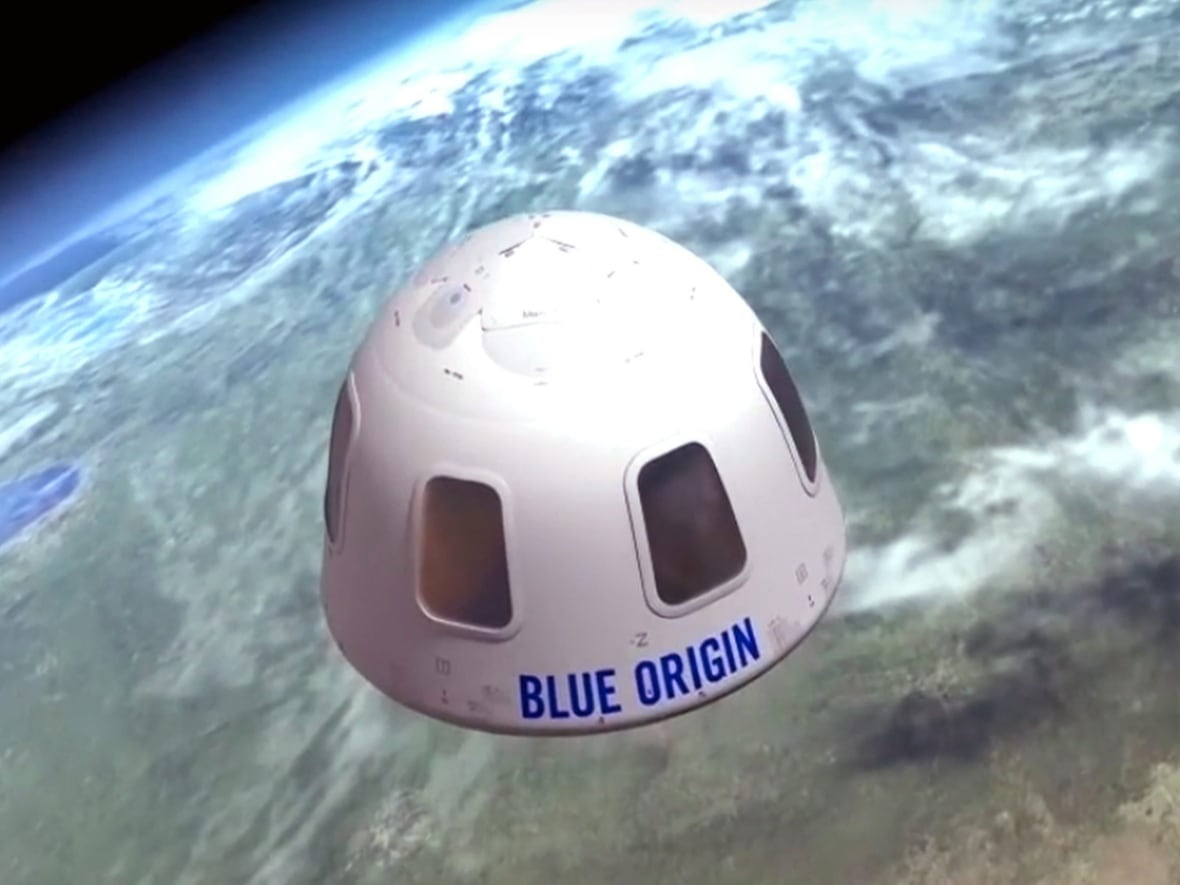 Blue Origin aims to take passengers on suborbital space