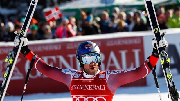Aksel Lund Svindal of Norway sustained a season-ending injury back in January when he fell during a run at the Kitzbuehel World Cup.