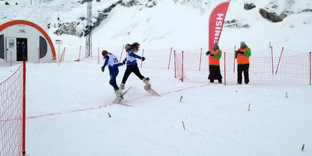 snowshoe photo finish